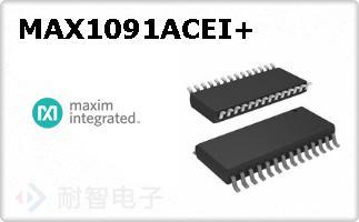 MAX1091ACEI+