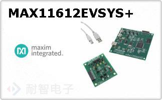 MAX11612EVSYS+
