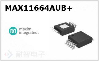 MAX11664AUB+