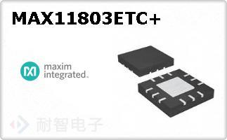 MAX11803ETC+