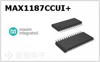 MAX1187CCUI+