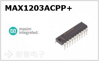 MAX1203ACPP+