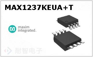 MAX1237KEUA+T