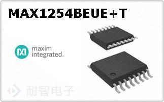 MAX1254BEUE+T