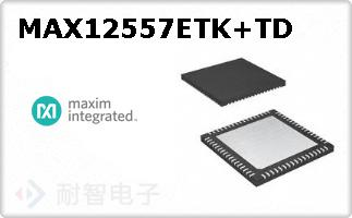 MAX12557ETK+TD