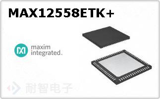 MAX12558ETK+