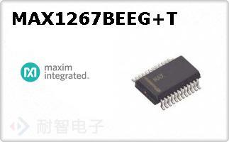 MAX1267BEEG+T