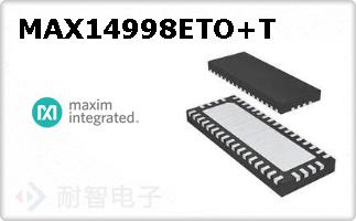 MAX14998ETO+T