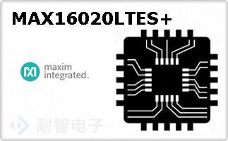 MAX16020LTES+