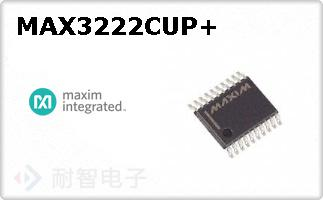 MAX3222CUP+