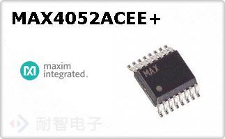 MAX4052ACEE+