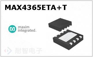 MAX4365ETA+T