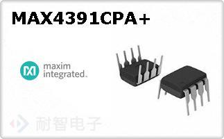 MAX4391CPA+