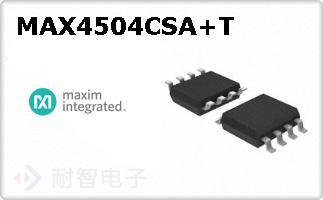 MAX4504CSA+T
