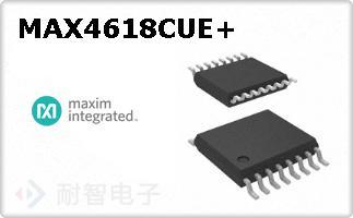 MAX4618CUE+