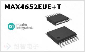 MAX4652EUE+T
