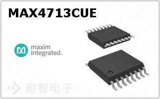 MAX4713CUE