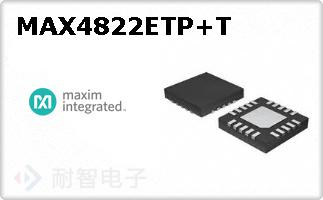 MAX4822ETP+T
