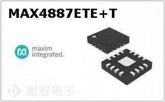 MAX4887ETE+T