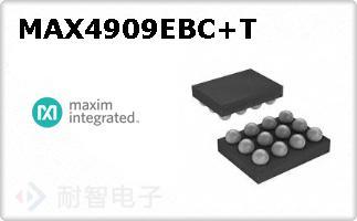 MAX4909EBC+T