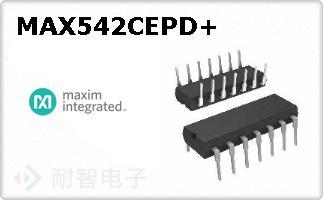 MAX542CEPD+