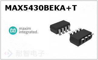 MAX5430BEKA+T