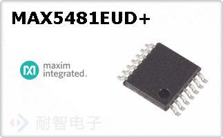 MAX5481EUD+