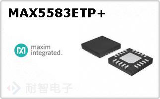 MAX5583ETP+