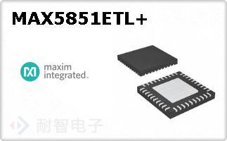 MAX5851ETL+