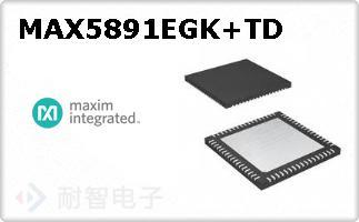 MAX5891EGK+TD