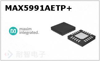 MAX5991AETP+