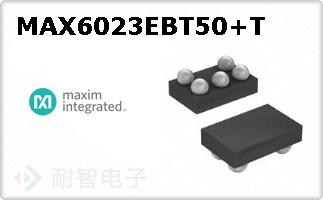 MAX6023EBT50+T
