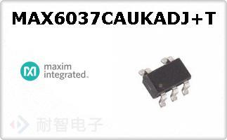 MAX6037CAUKADJ+T