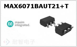 MAX6071BAUT21+T