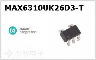MAX6310UK26D3-T