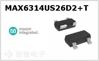 MAX6314US26D2+T