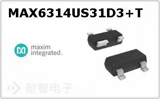 MAX6314US31D3+T