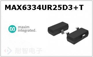 MAX6334UR25D3+T