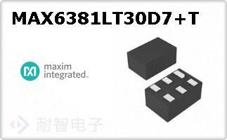 MAX6381LT30D7+T