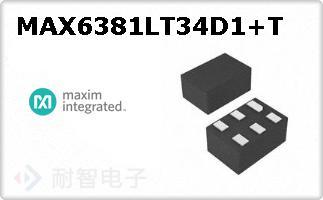 MAX6381LT34D1+T