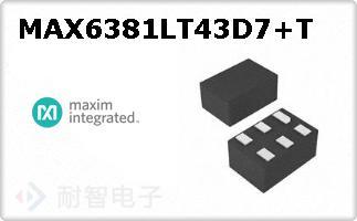 MAX6381LT43D7+T