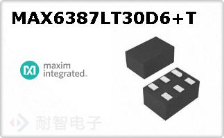MAX6387LT30D6+T