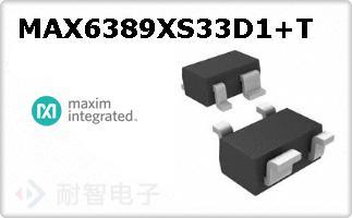 MAX6389XS33D1+T