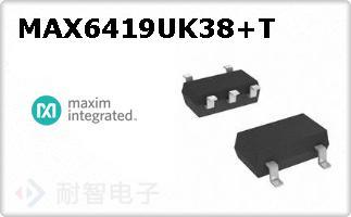 MAX6419UK38+T