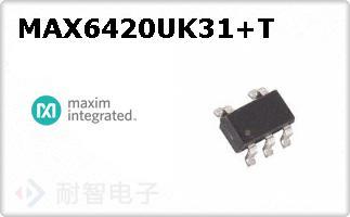 MAX6420UK31+T