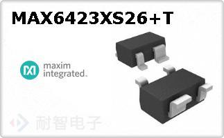 MAX6423XS26+T
