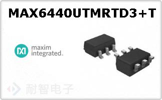 MAX6440UTMRTD3+T