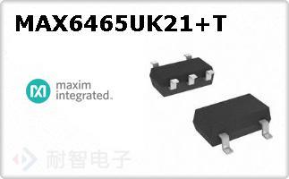 MAX6465UK21+T