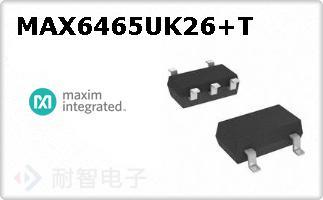 MAX6465UK26+T