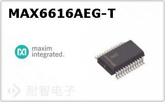 MAX6616AEG-T